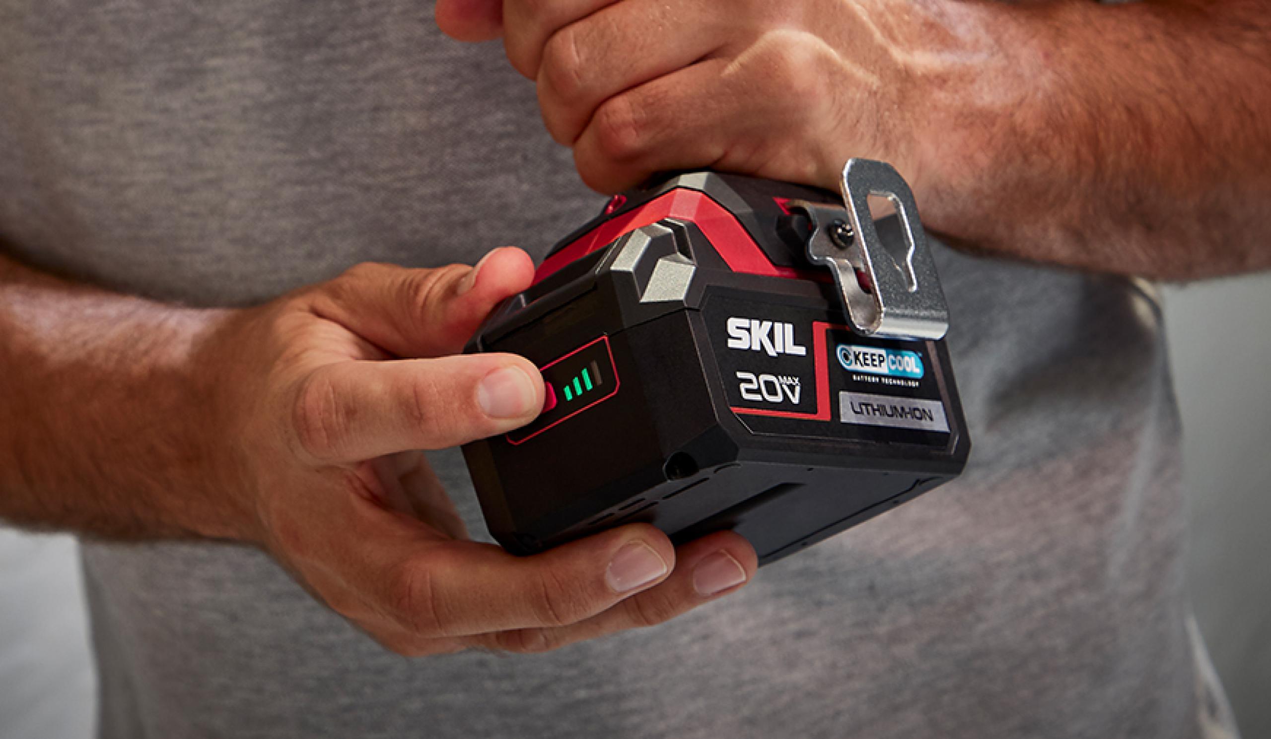 Patentert batterinivåindikator: indikatoren du kan stole på
