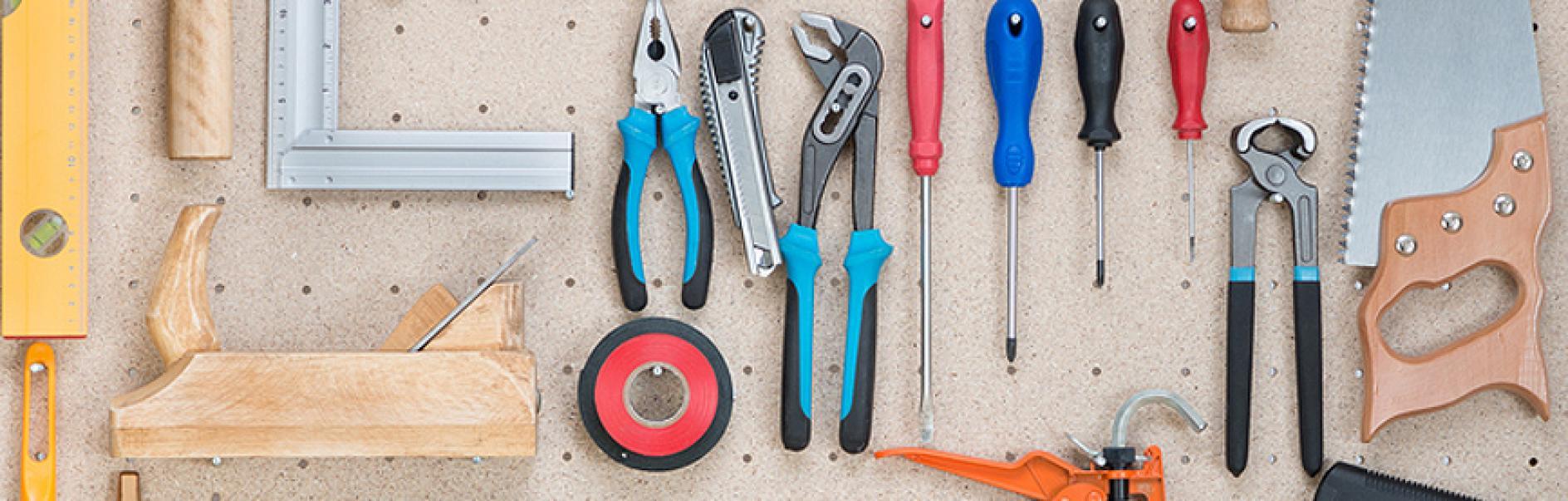 ad131a7b1 Håndverktøy og verktøytavle