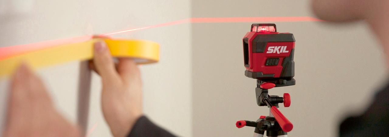 Laser-/måleverktøy