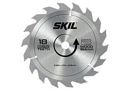 SKIL Hardmetallblad (Ø 184 mm, 18 tenner)