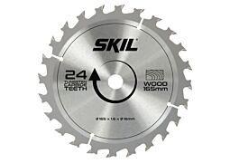 SKIL Hardmetallblad (Ø 165 mm, 24 tenner)