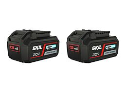 SKIL 3105 BA Batteri '20V Max' (18 V) 5,0 Ah 'Keep Cool™' Li-Ion (2x)