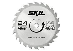 SKIL Hardmetallblad (Ø 190 mm, 24 tenner)
