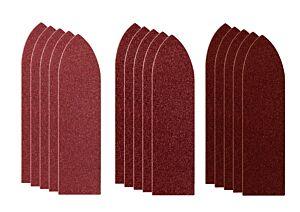 SKIL Fingerformet borrelåspapir (87 x 32 mm)