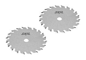 SKIL Sett med hardmetallsagblad (2 stk.)