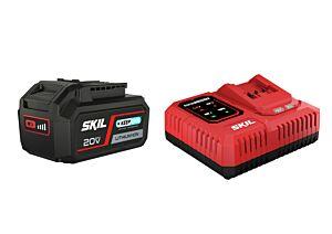 SKIL 3111 AA Batteri ('20V Max' (18 V) 4,0 Ah 'Keep Cool' Li-Ion) og 'Rapid'-lader